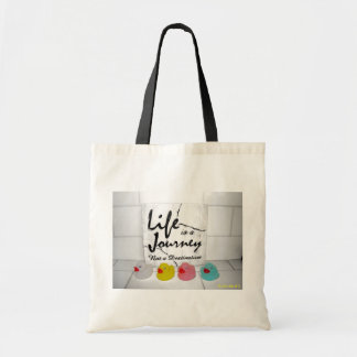 """Journey"" Rubber Duck Tote Bag"