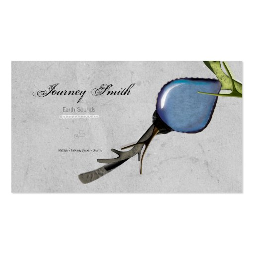 Journey Smith Grey Ribbon little detail Business C Business Card