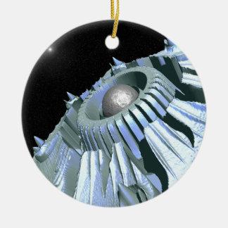 Journey Through Space Ceramic Ornament