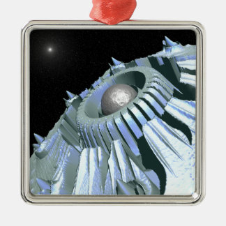 Journey Through Space Metal Ornament