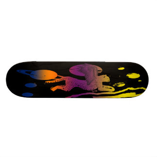 Journey through the solar system skate board deck