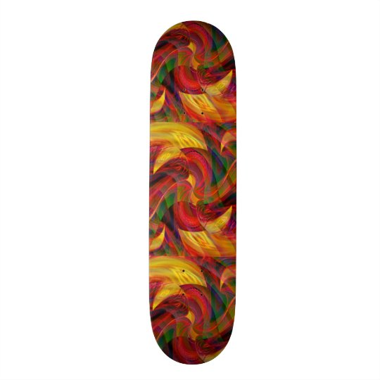 Journey to Bedlam Skateboard Deck