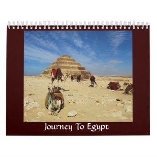Journey To Egypt - pictures of Egypt Calendar