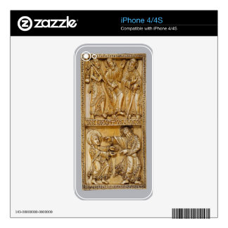 Journey to Emmaus and Noli Me Tangere Skin For iPhone 4S