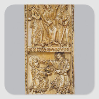 Journey to Emmaus and Noli Me Tangere Square Sticker