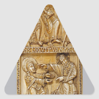 Journey to Emmaus and Noli Me Tangere Triangle Sticker