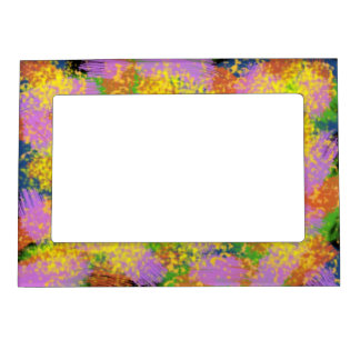 Journey To Light Abstract Digital Art Magnetic Photo Frame