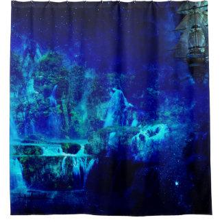 Journey tō Neverland Shower Curtain