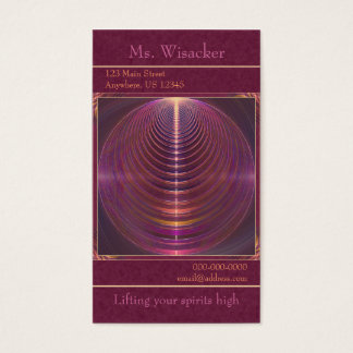 Journey to Soul Mandala Business Card