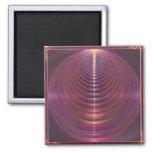 Journey to Soul Mandala Fridge Magnets