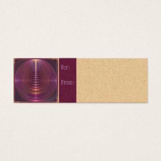 Journey to Soul Mandala Mini Business Card