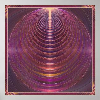 Journey to Soul Mandala Poster