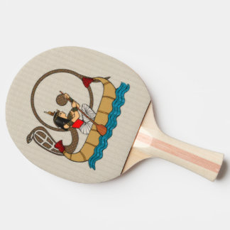 Journey To The Afterlife Ping Pong Paddle