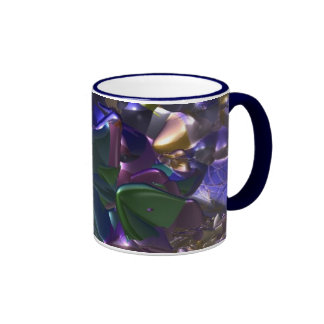 Journey to the Center of the Earth Ringer Coffee Mug