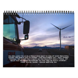 Journey to the Southwest Calendars