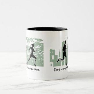 Journey Two-Tone Coffee Mug