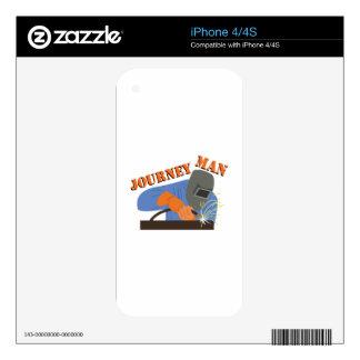 Journeyman Welder Skin For The iPhone 4