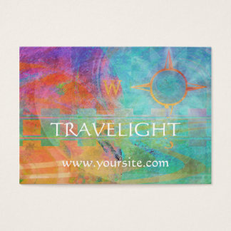 Journeys - Abstract Travel Theme Business Card
