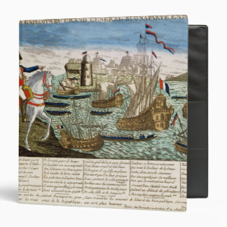 Journeys and Exploits of General Bonaparte  1798 3 Ring Binder