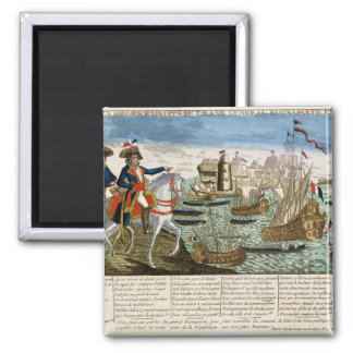Journeys and Exploits of General Bonaparte  1798 Magnet