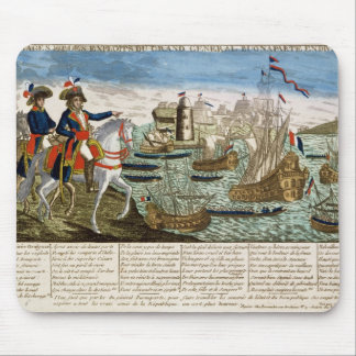 Journeys and Exploits of General Bonaparte  1798 Mouse Pad