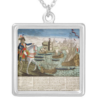 Journeys and Exploits of General Bonaparte  1798 Custom Necklace