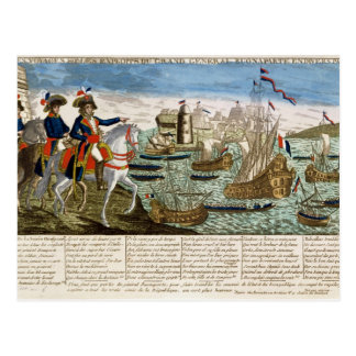 Journeys and Exploits of General Bonaparte  1798 Postcard