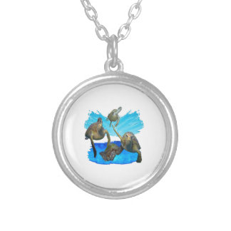 JOURNEYS BEYOND SILVER PLATED NECKLACE