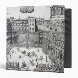 Jousting, 1565 3 ring binder