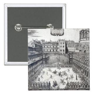 Jousting, 1565 button