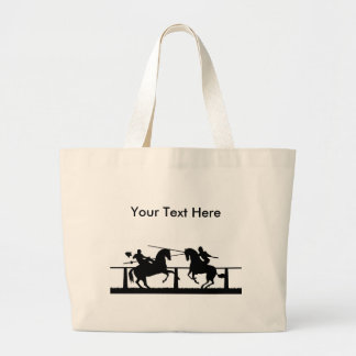 Jousting Canvas Bags