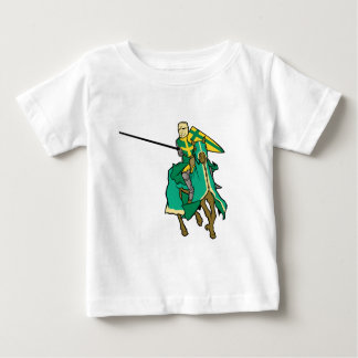 Jousting Green Knight Baby T-Shirt