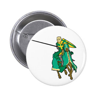 Jousting Green Knight Button