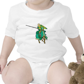 Jousting Green Knight T Shirts