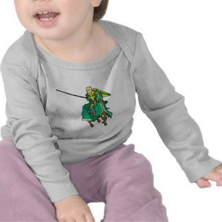 Jousting Green Knight Tees
