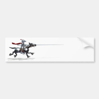 Jousting Knight Bumper Stickers