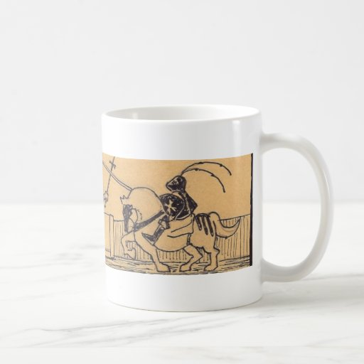 Jousting Knights by Starfighter-art.com Coffee Mugs