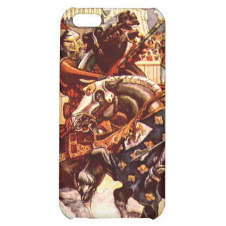 Jousting Knights iPhone Case Cover For iPhone 5C
