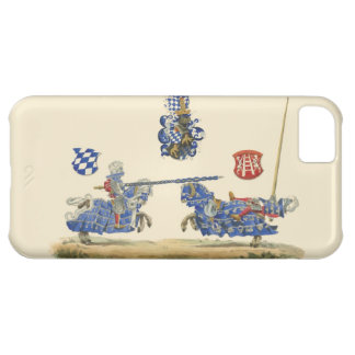 Jousting Knights - Medieval Theme Case For iPhone 5C