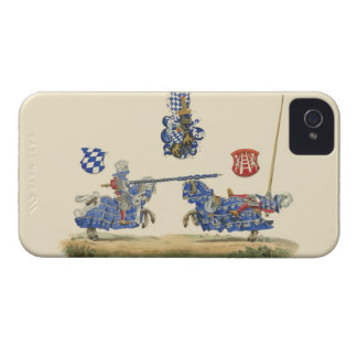 Jousting Knights - Medieval Theme Case-Mate iPhone 4 Case