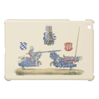 Jousting Knights - Medieval Theme iPad Mini Case