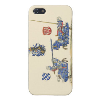 Jousting Knights - Medieval Theme iPhone SE/5/5s Case