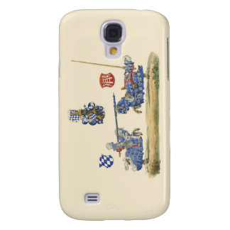 Jousting Knights - Medieval Theme Samsung Galaxy S4 Case