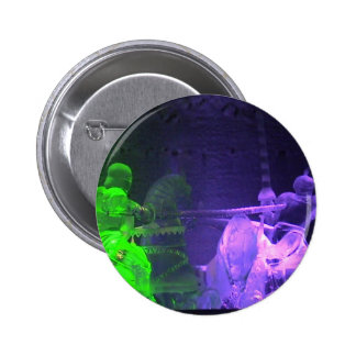 Jousting Knights Pinback Button
