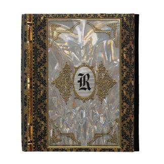 Jovariela Vintage Old Book Style iPad Folio Covers