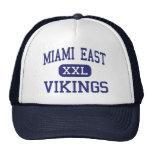 Joven del este de Miami - Vikingos - - Troy Ohio Gorras De Camionero