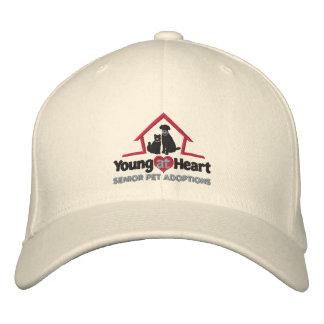 Jóvenes en el gorra bordado corazón gorra bordada