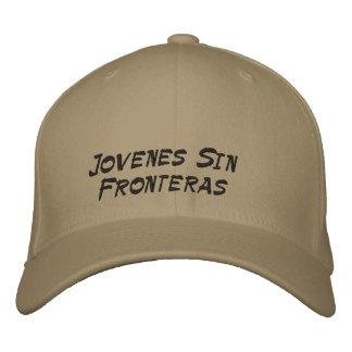 Jovenes Sin Fronteras Hat Embroidered Hat