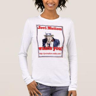 Jovi Nation Wants You Long Sleeve T-Shirt