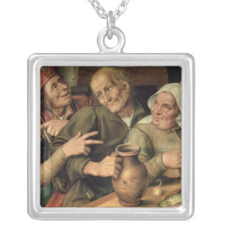 Jovial Company, 1564 Silver Plated Necklace